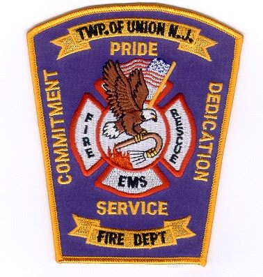 Fired Dept. Patch