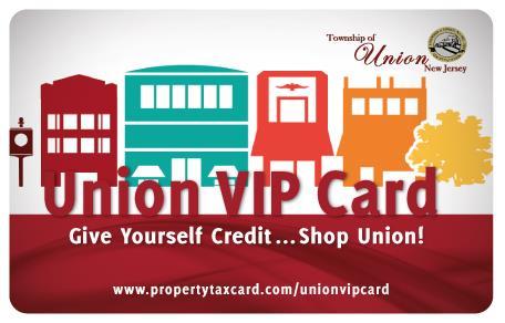 Property Tax Rewards Program Union Township Nj Official Website