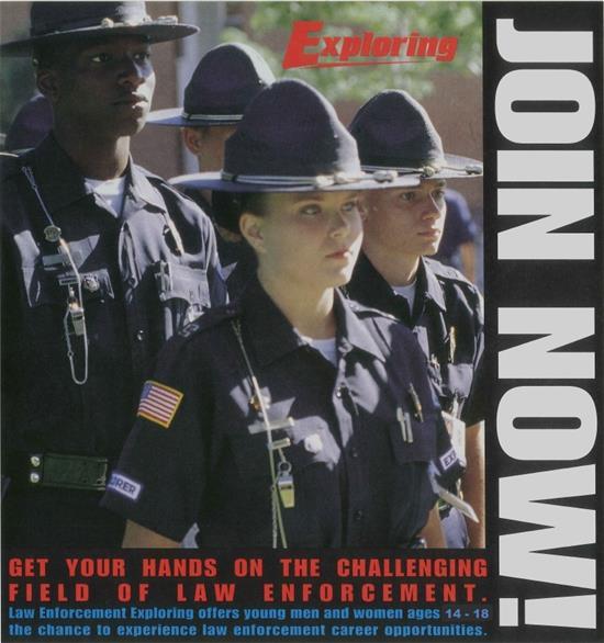 Law Enforcement Explorer Program   Union Township, NJ