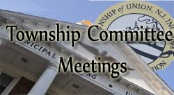 Twp Committee Meetings