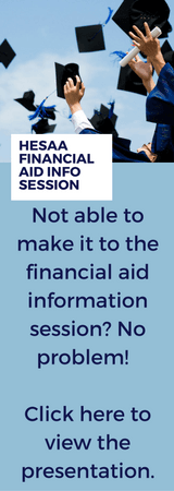 Website Finaincial Aid Info Session