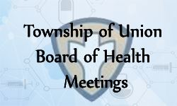 Board of Health Meetings
