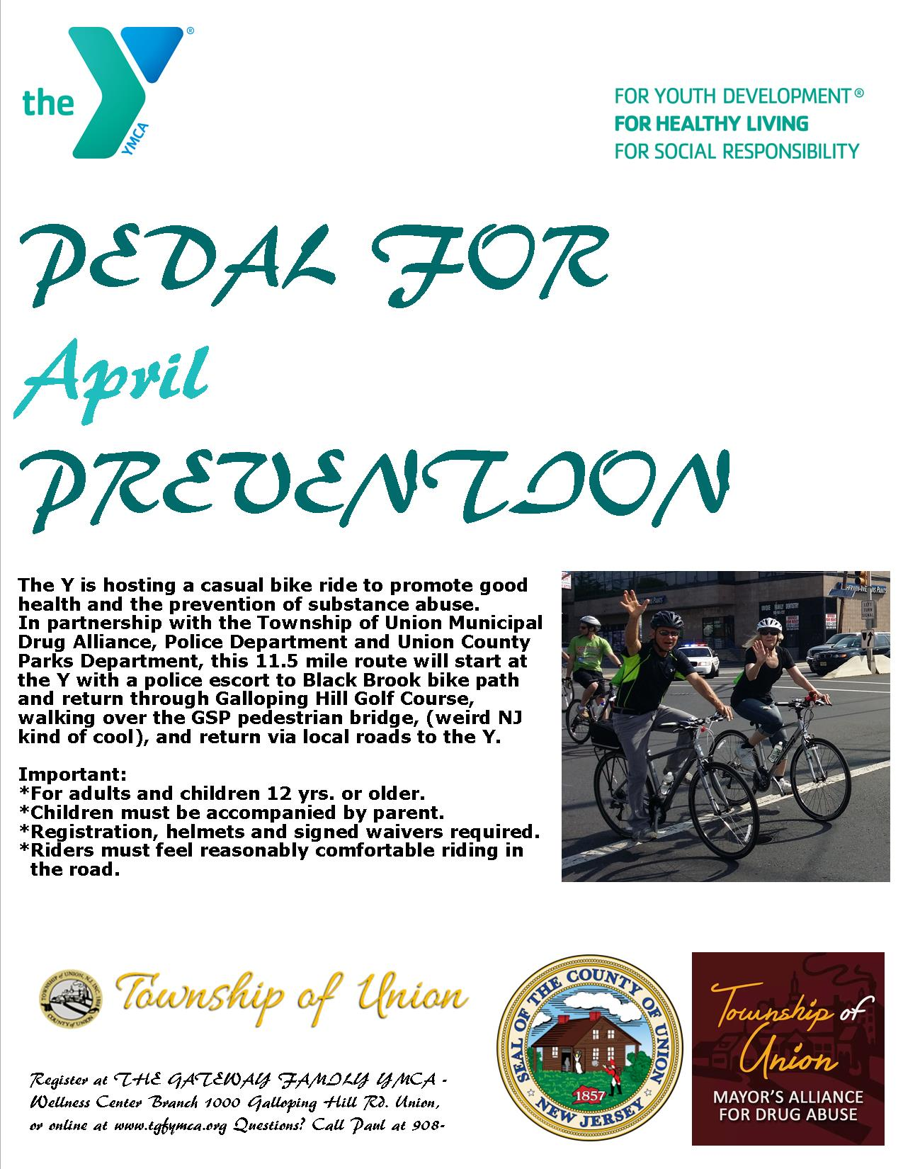 Pedal for Prevention