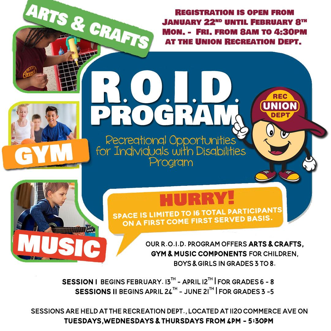 R.O.I.D Recreational Opportunities for Individuals with Disabilities