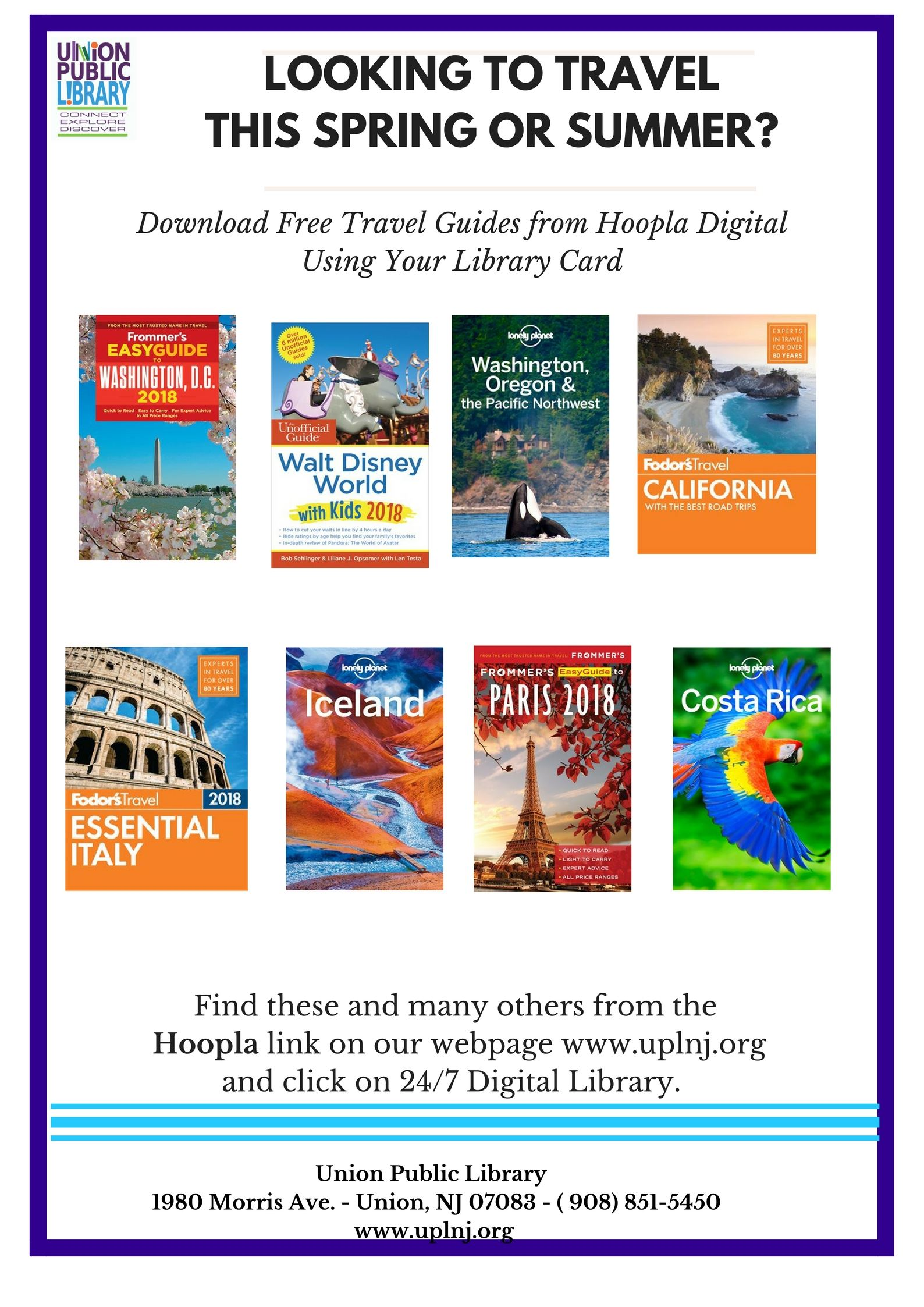 Travel Books Hoopla