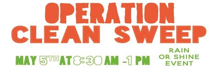 Ssave the date operation clean sweep