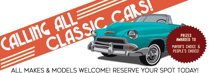 Classic Car Show Form Graphic