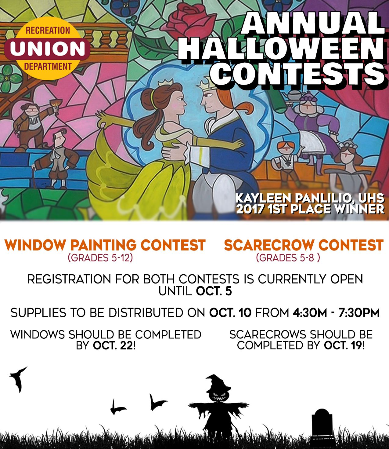 Annual Halloween Contests