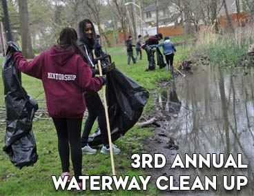 Spotlight on 3rd Annual Waterway Clean up