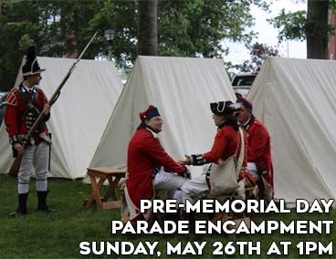 Spotlight on Pre-Memorial Day Encampment