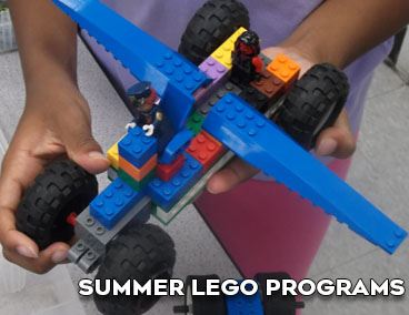 Spotlight on Summer Lego Programs