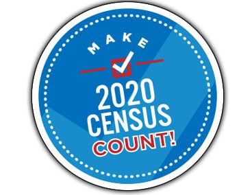 Make 2020 Census Count circular logo