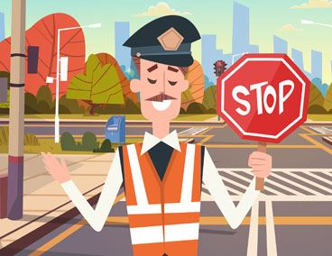 Graphical Image For Substitute/Relief School Crossing Guards Post