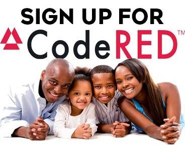 Sign up for CodeRED today!