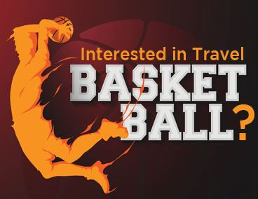 Spotlight Travel Basketball Website Graphic