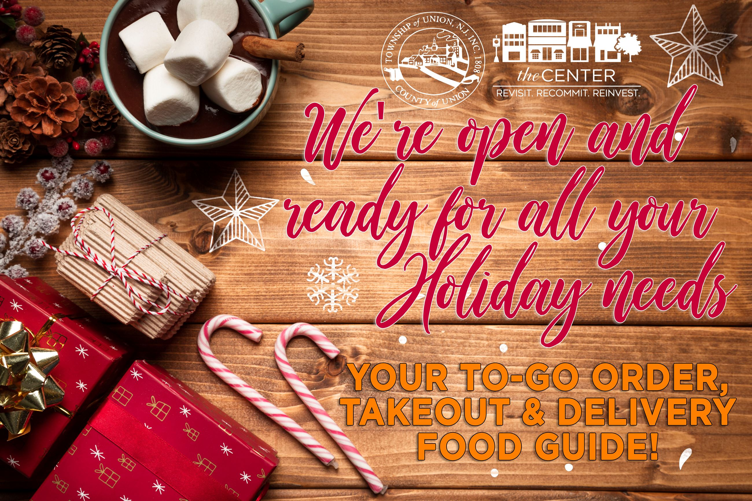 Holiday Food Guide Graphical Image