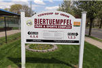 Biertuempfel Entrance Sign